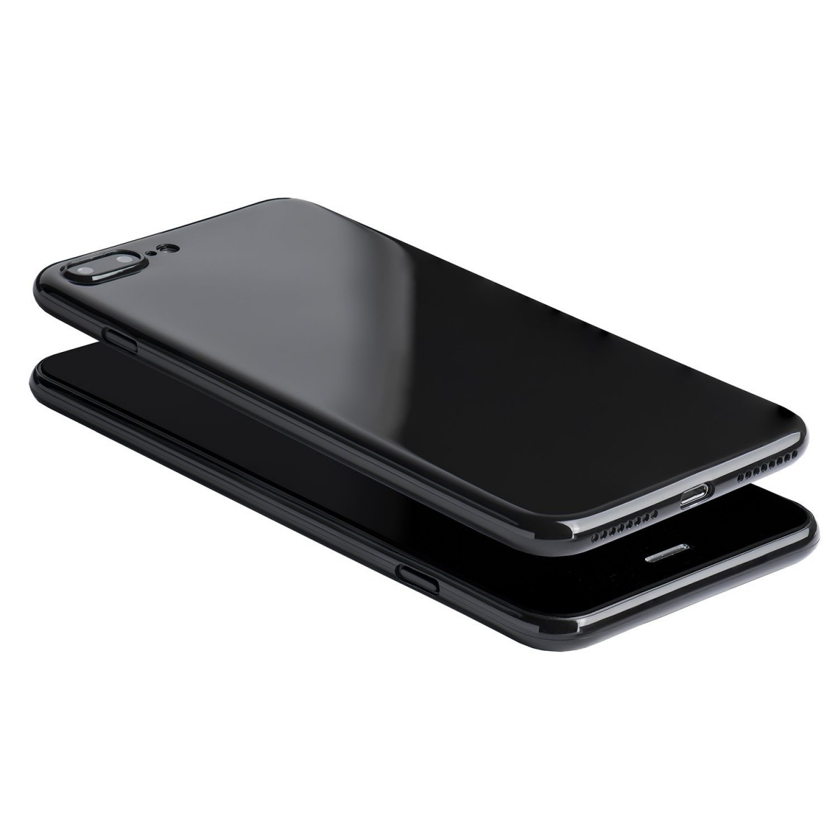 Obal Jet Black pro Apple iPhone 8 Plus / 7 Plus