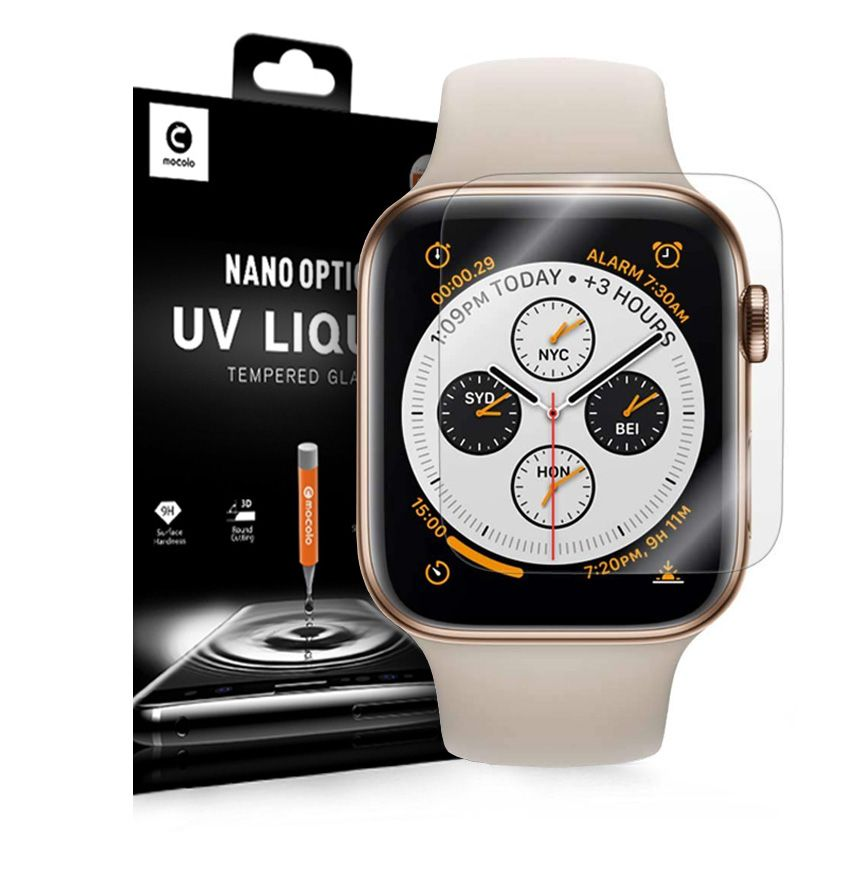 Mocolo Nano Optics UV Liquid Tempered Glass Apple Watch Series 4/5/6/SE (44mm) MUVGAW44