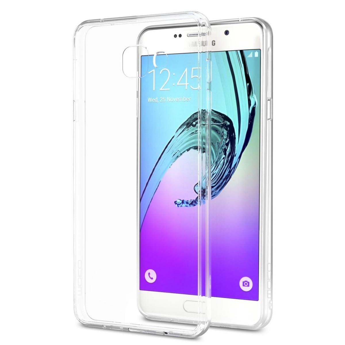 Silikonový obal / kryt Goospery Mercury pro Samsung Galaxy A7 (2016), čirý