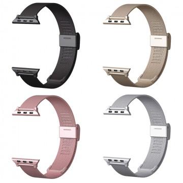 Řemínek MILANESE CLASSIC pro Apple Watch 42mm Series 1, 2, 3