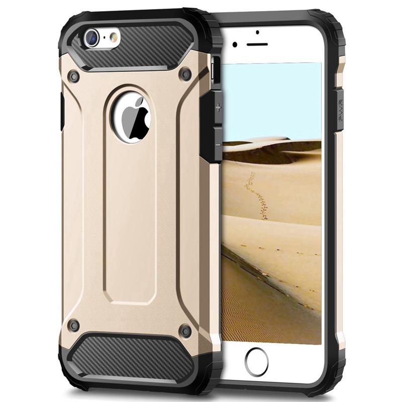 Pouzdro AppleKing super odolné Armor Apple iPhone 6 Plus / 6S Plus zlaté