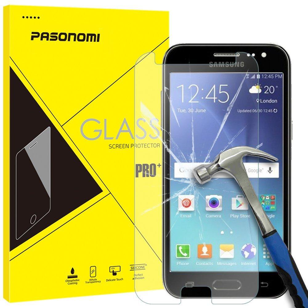 Ochranné tvrzené sklo 9H na displej pro Samsung Galaxy J2 / J2 Duos