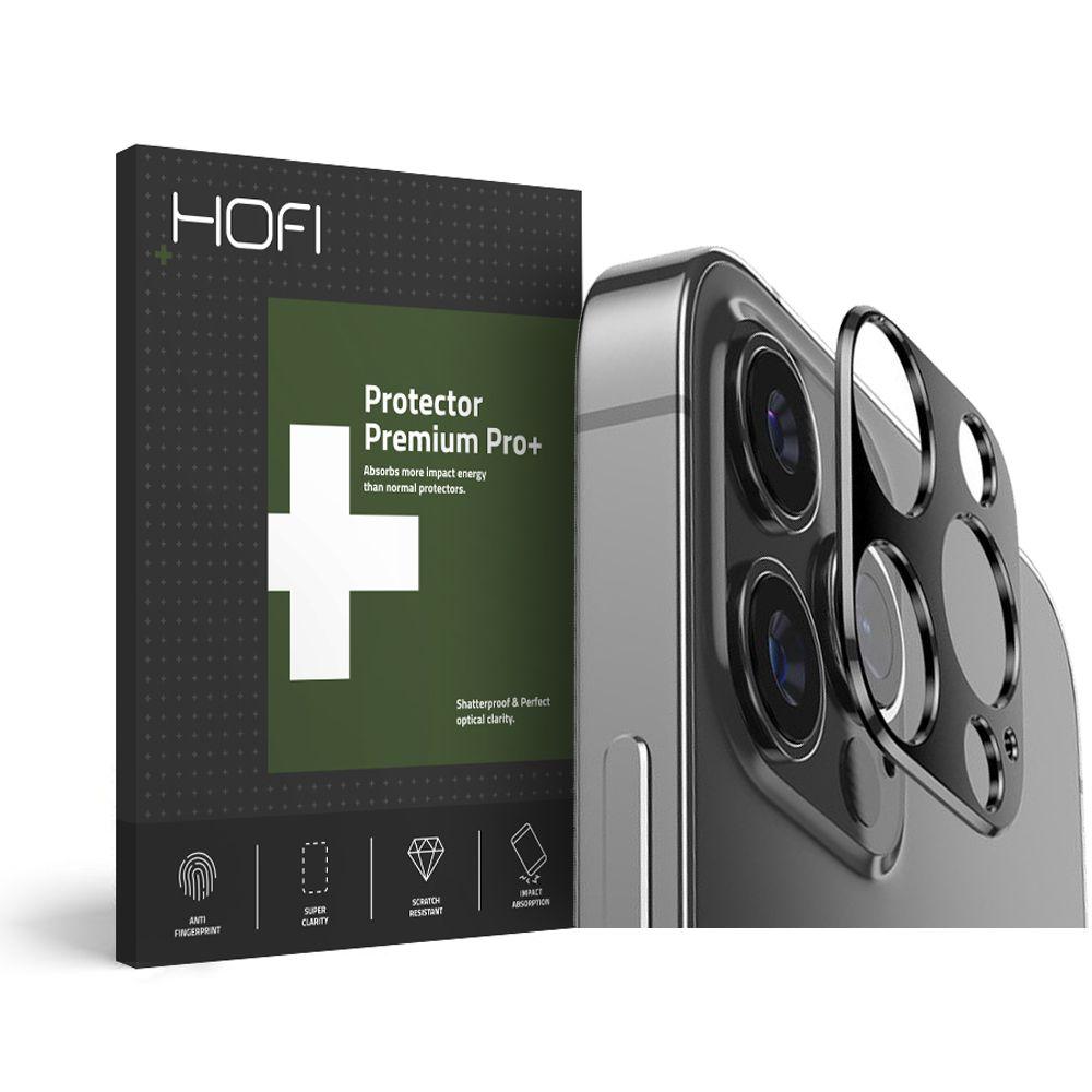 Pouzdro Hofi Metal Styling Camera iPhone 12 Pro Černé
