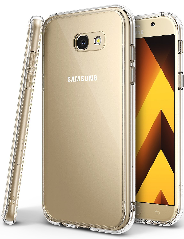 Silikonový obal / kryt Goospery Mercury pro Samsung Galaxy A3 (2017), čirý