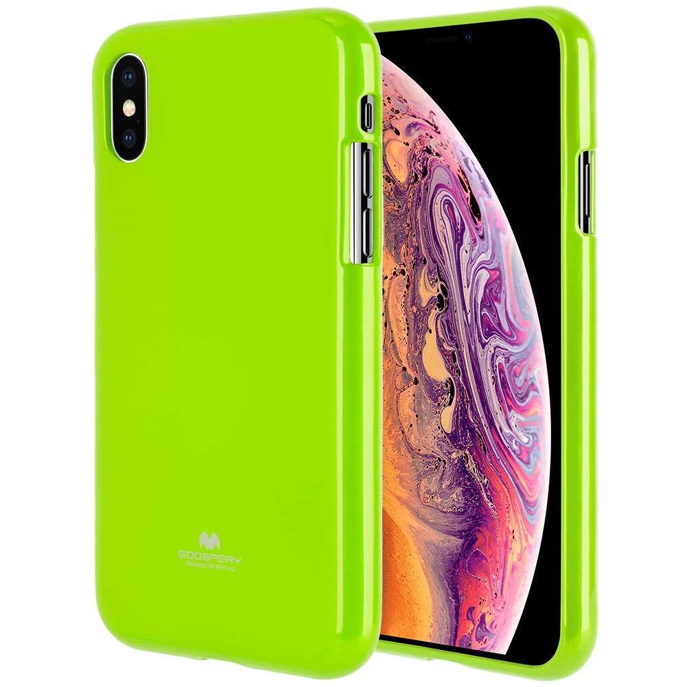 Pouzdro Mercury Pearl Jelly Case iPhone XS MAX - Limetkový