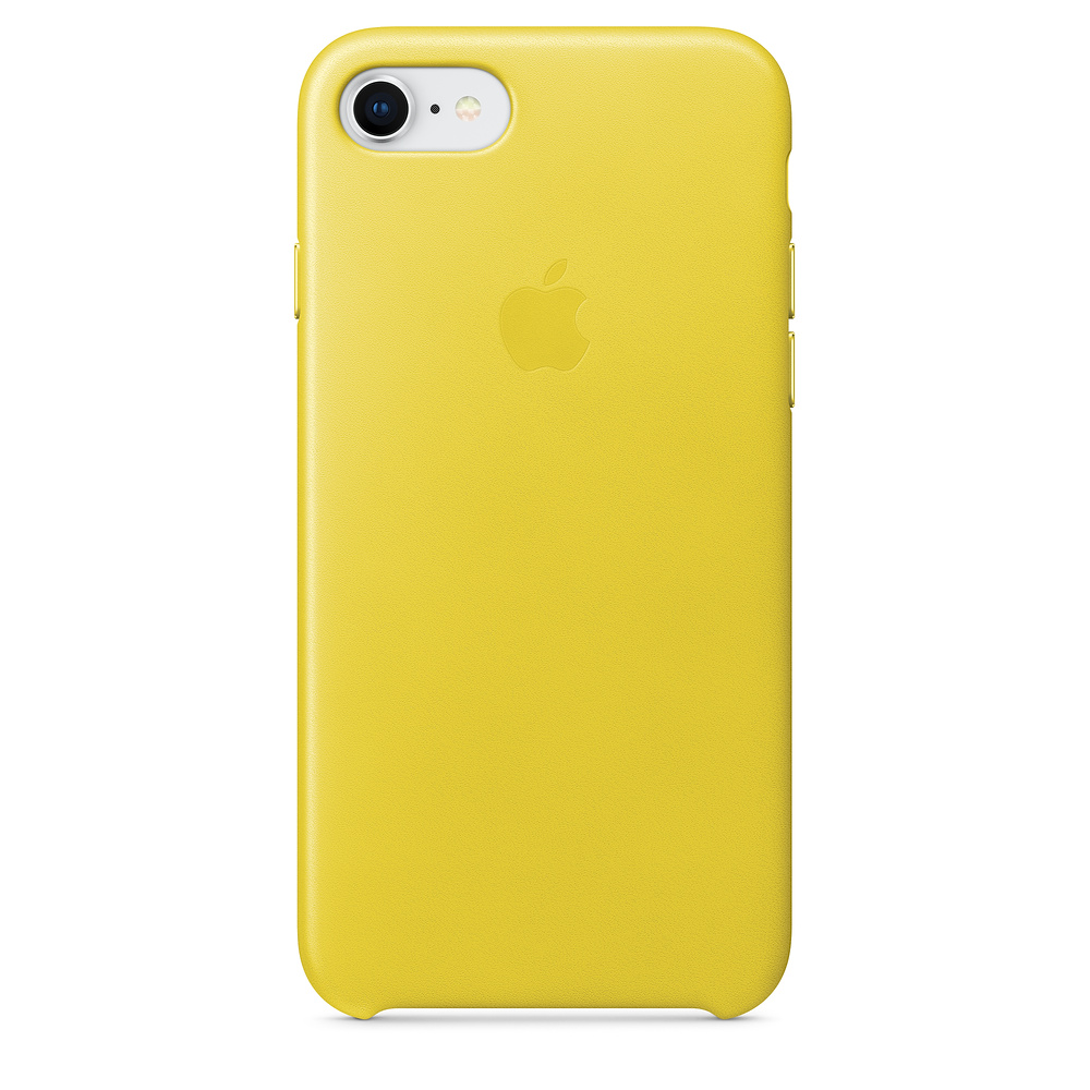 Pouzdro Apple Leather Case Apple iPhone 7 - Sunflower