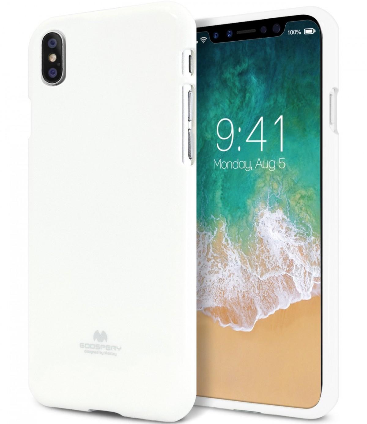 Pouzdro mercury iphone x jelly case white levně  97056847fb0
