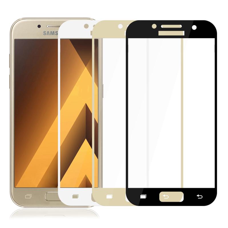 3D ochranné sklo Carbon Fiber na displej Samsung Galaxy A5 (2017)