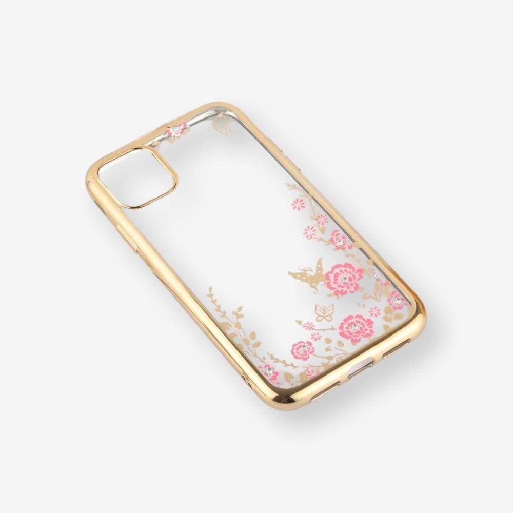 Pouzdro Forcell Diamond Case iPhone 11 Pro - Zlatá