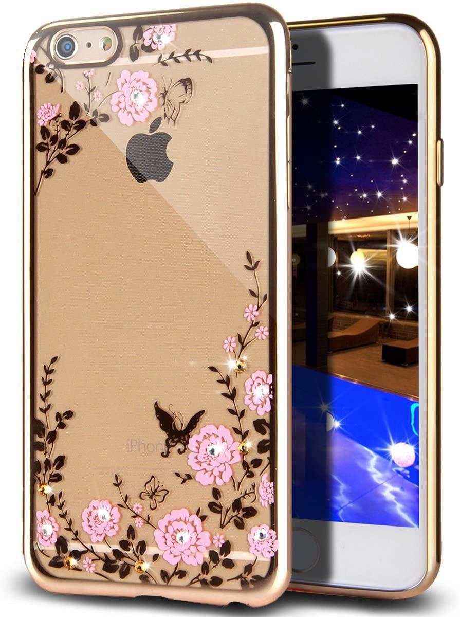 Pouzdro Forcell Diamond Case iPhone 6s/6 - Zlatá