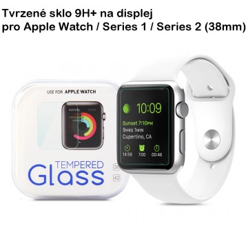 Tvrzené sklo 9H+ na Apple Watch / Series 1, 2 (38mm)
