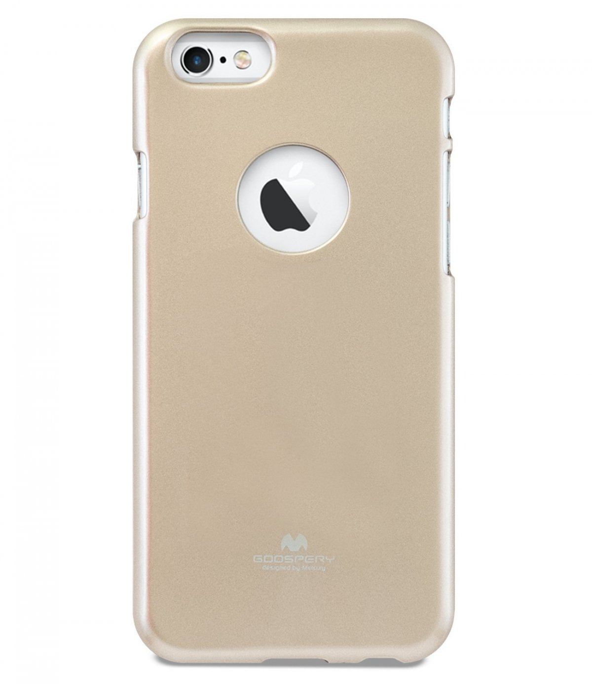 Silikonový obal / kryt Jelly Case Goospery Mercury Apple iPhone 6s Plus / 6 Plus - Zlatý
