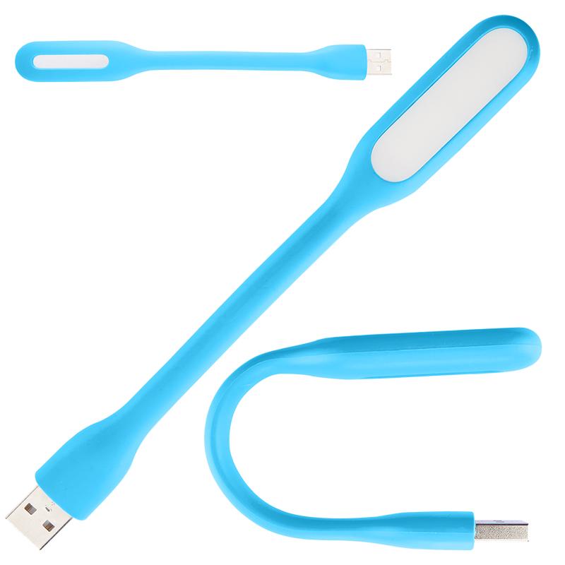 USB LED lampička .blun - Modrá