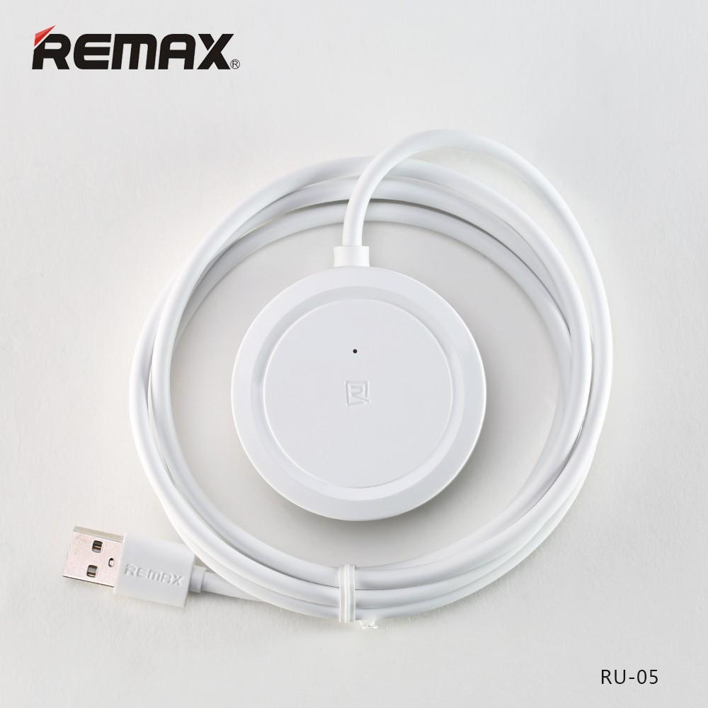 USB HUB REMAX Inspiron RU-05, 3x USB - Bílý