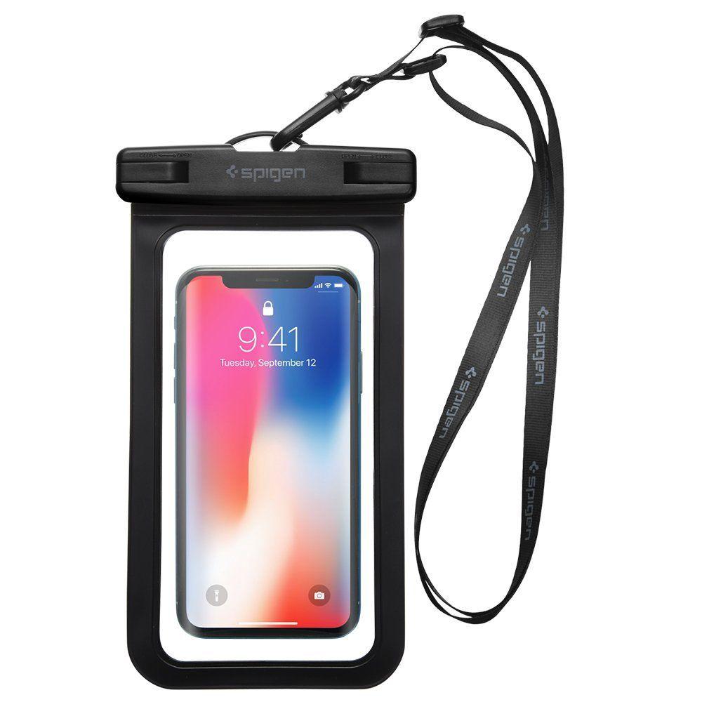 Pouzdro Spigen Velo A600 Waterproof Phone - Černé