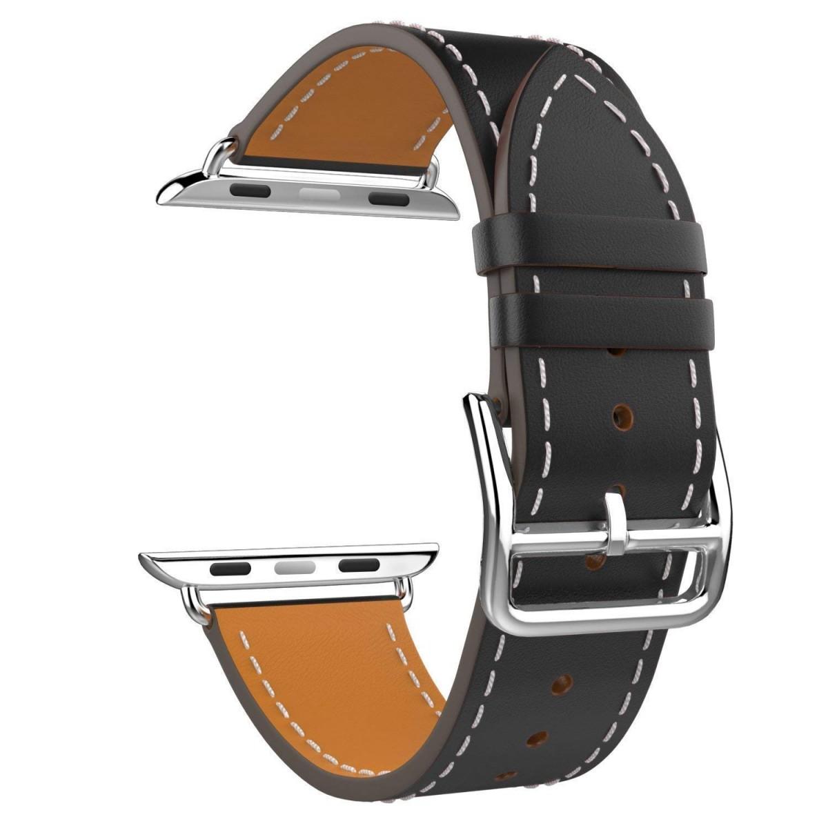 Řemínek Single Tour pro Apple Watch Series 3/2/1 (38mm) - Černý