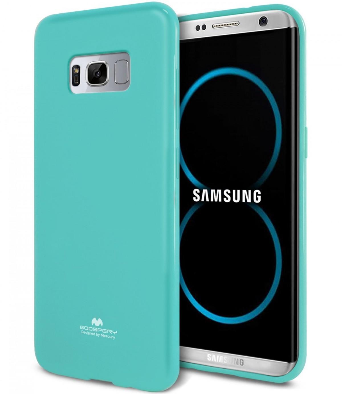 Silikonový obal / kryt / pouzdro Goospery Mercury pro Samsung Galaxy S8+ (S8 Plus) - Jelly Case - Mint