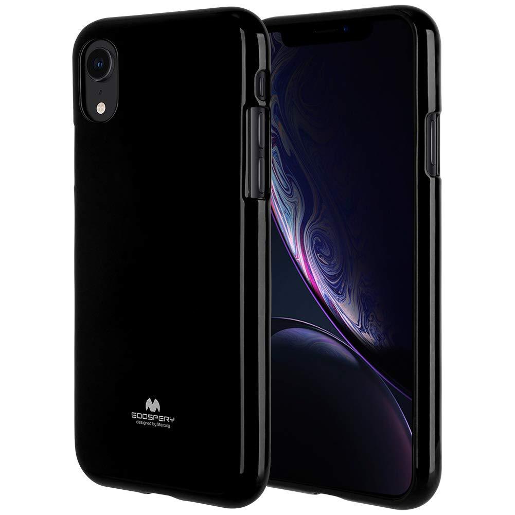 Pouzdro Mercury Pearl Jelly Case iPhone XR - Černý