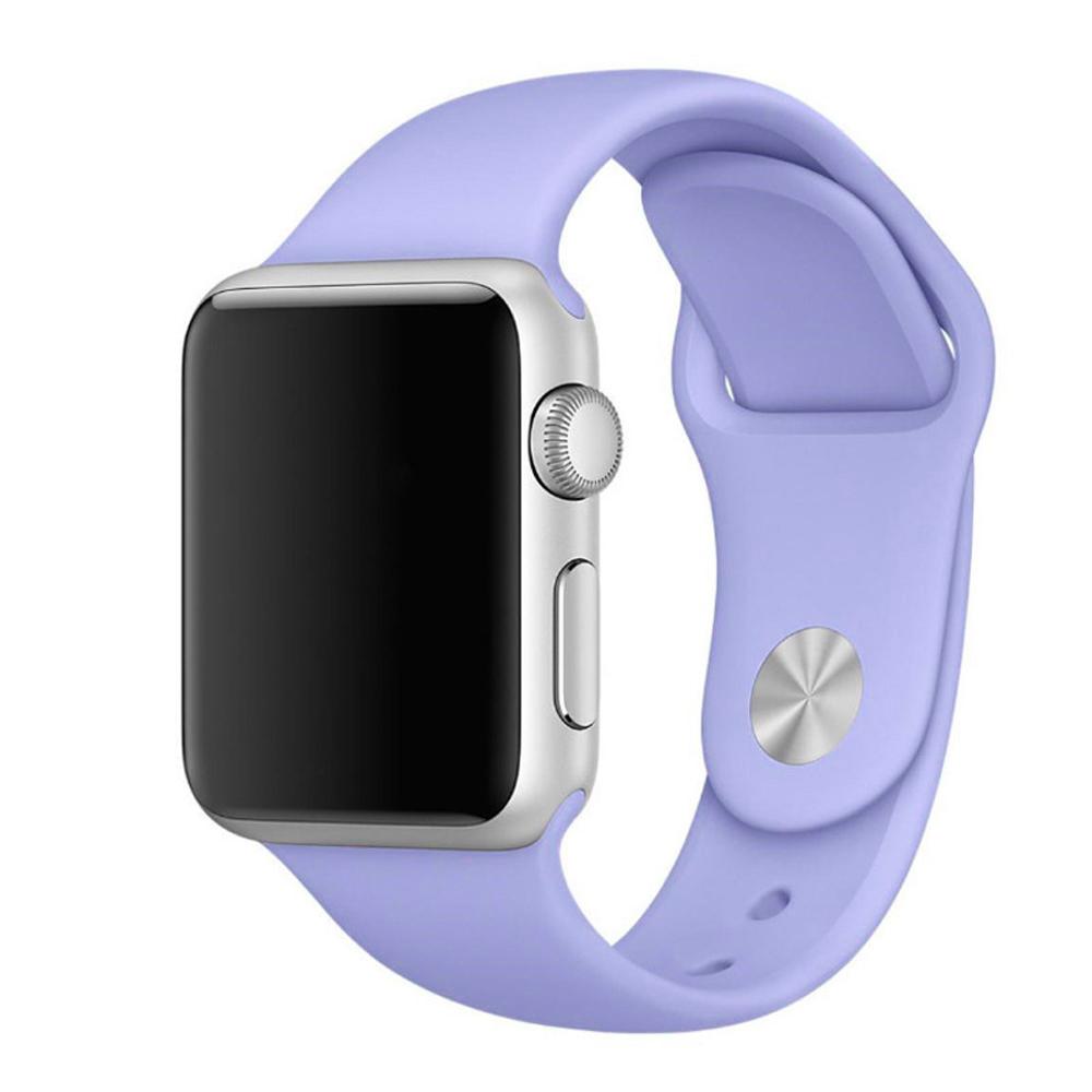 Řemínek SmoothBand pro Apple Watch Series 3/2/1 42mm - Modrofilaový
