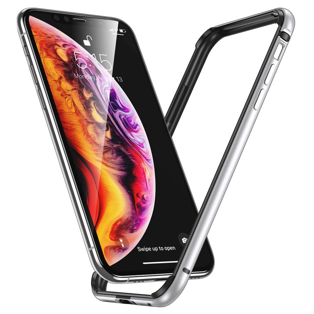 Pouzdro ESR Edge Guard na Apple iPhone 11 Pro - Stříbrný
