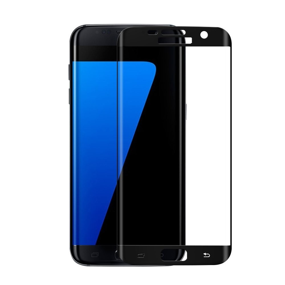 Ochranné 3D sklo Magic Glass Full Glue Galaxy S7 Edge - Černé (Full Face)