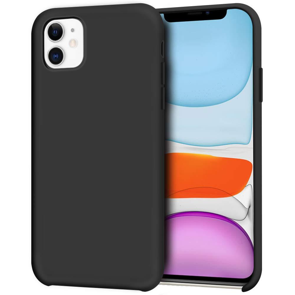 Pouzdro iMore Silicone Case iPhone 11 - Černý