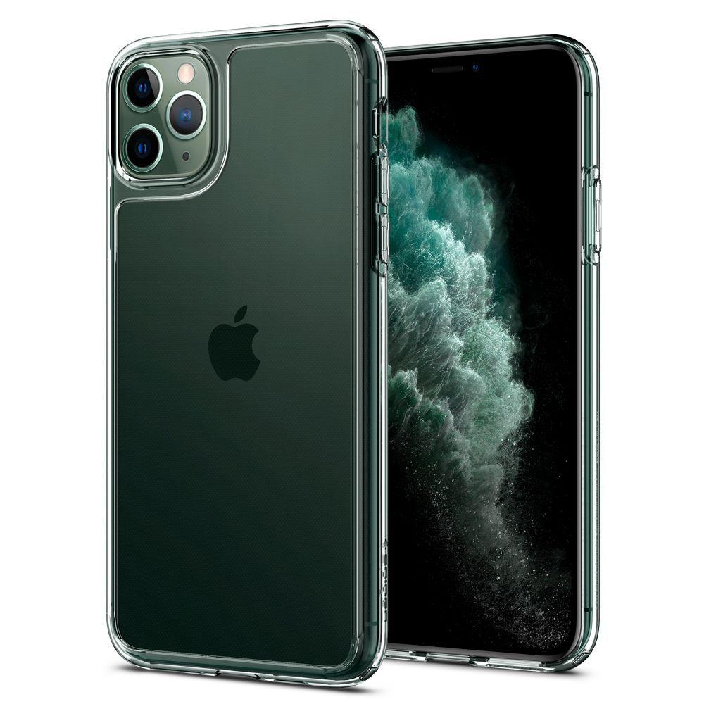Pouzdro Spigen Quartz Hybrid Apple iPhone 11 Pro Max - Čiré