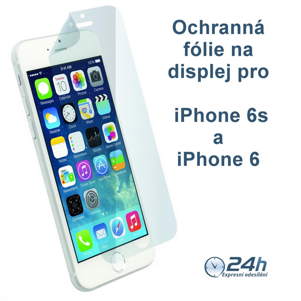 Fólie na displej CLEAR na displej pro iPhone 6s / 6