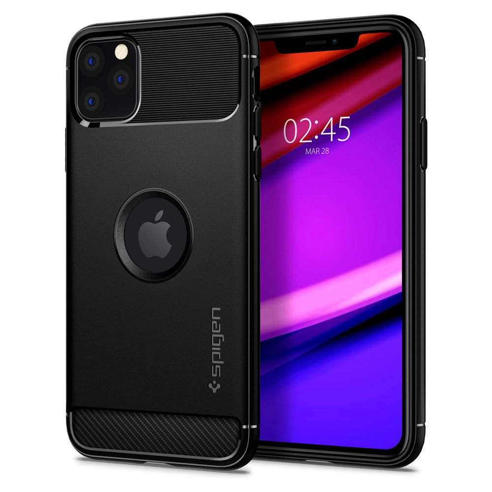 Pouzdro Spigen Rugged Armor Apple iPhone 11 Pro Max