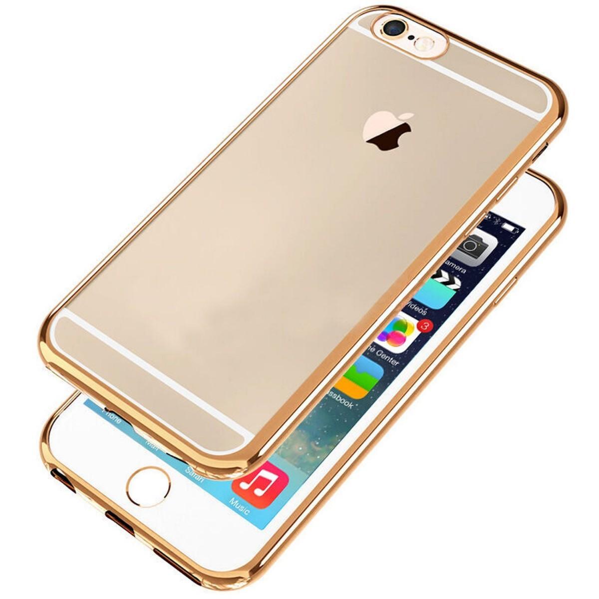 Elegantní obal / kryt RING pro iPhone 6s / 6 Plus (gold)