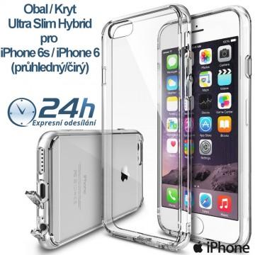 Průhledný čirý obal / kryt Ultra Slim Hybrid pro iPhone 6s / 6