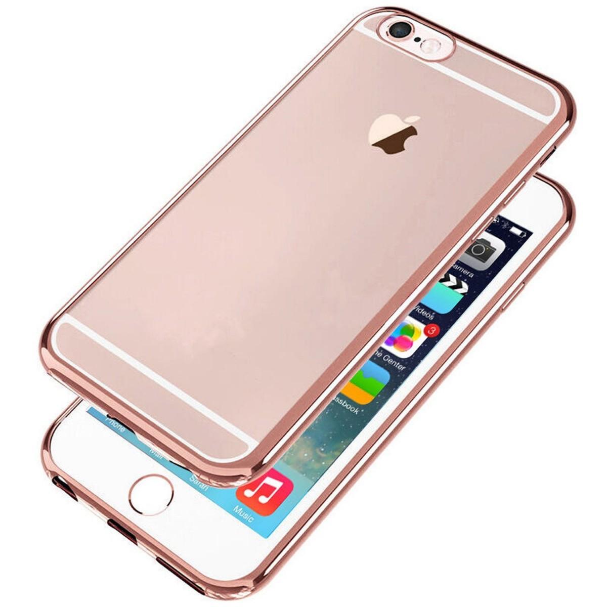 Elegantní obal / kryt RING pro iPhone 6s / 6 Plus (rose gold)