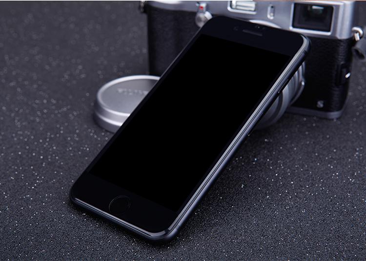 3D Tvrzené sklo MagicGLASS na iPhone 7 Plus a iPhone 7 Plus Plus (černé)