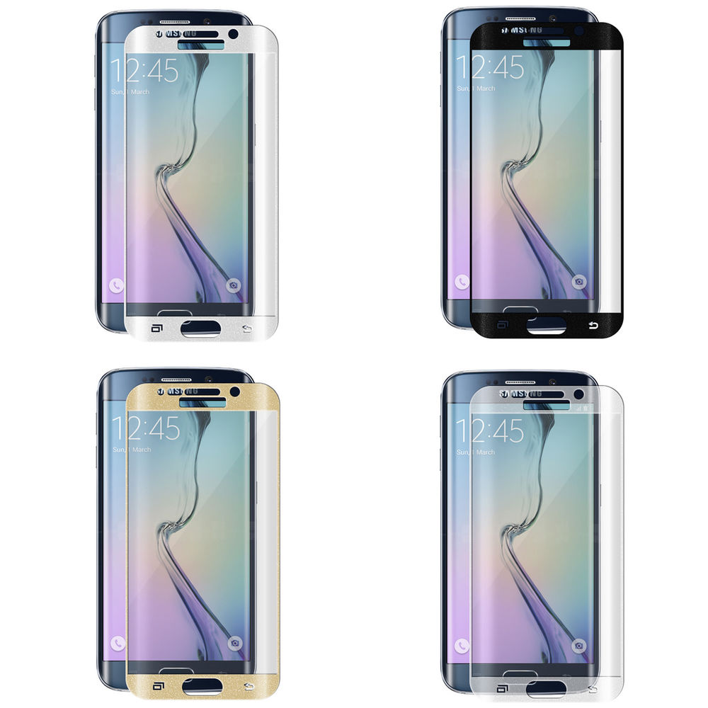 3D tvrzené sklo na displej pro Samsung Galaxy S6 Edge Plus fólie.