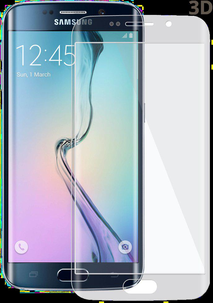 3D tvrzené sko na displej zakřivené tempered glass pro Samsung Galaxy Edge.