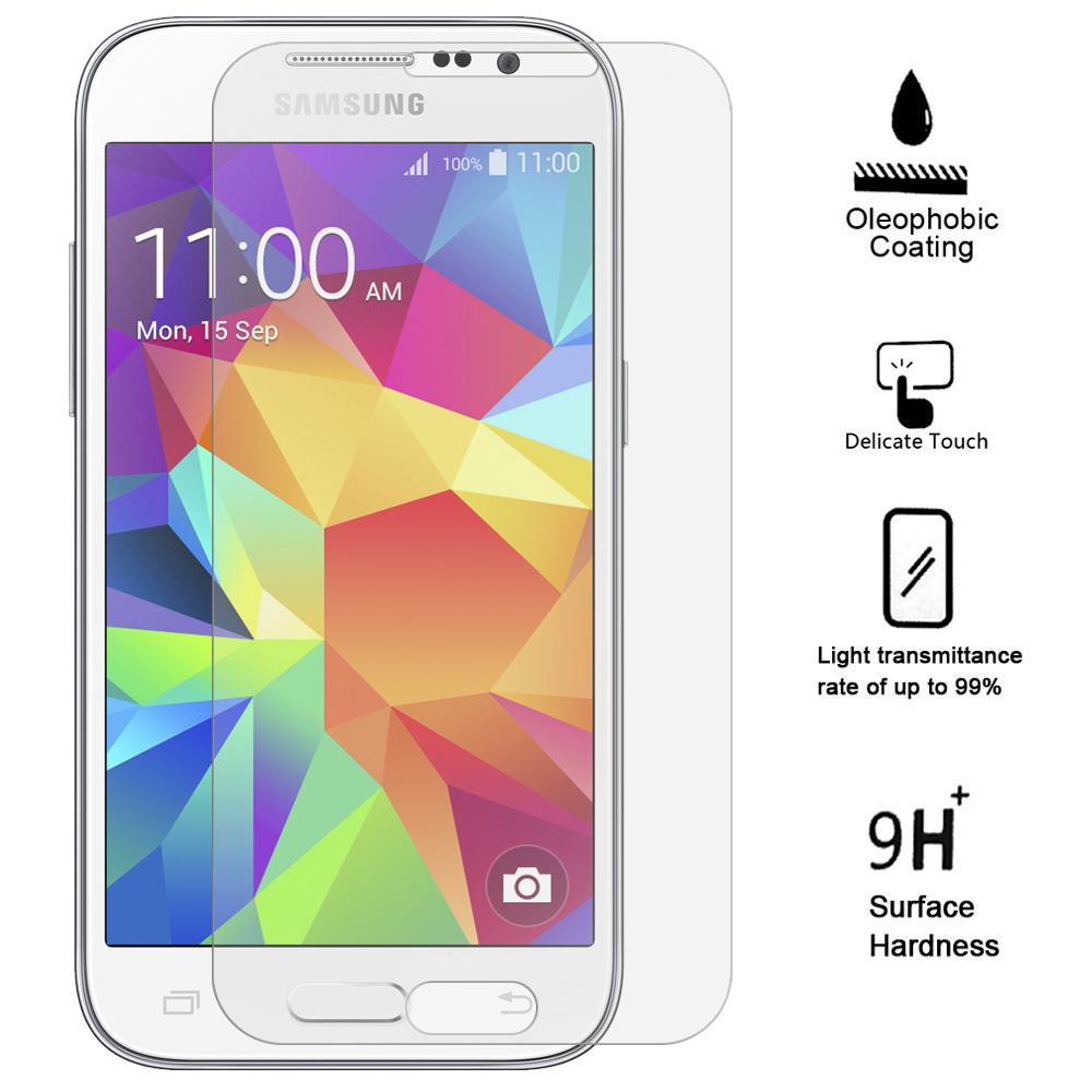 Ochranné tvrzené sklo 9H na displej pro Samsung Galaxy Core Prime, Fólie.