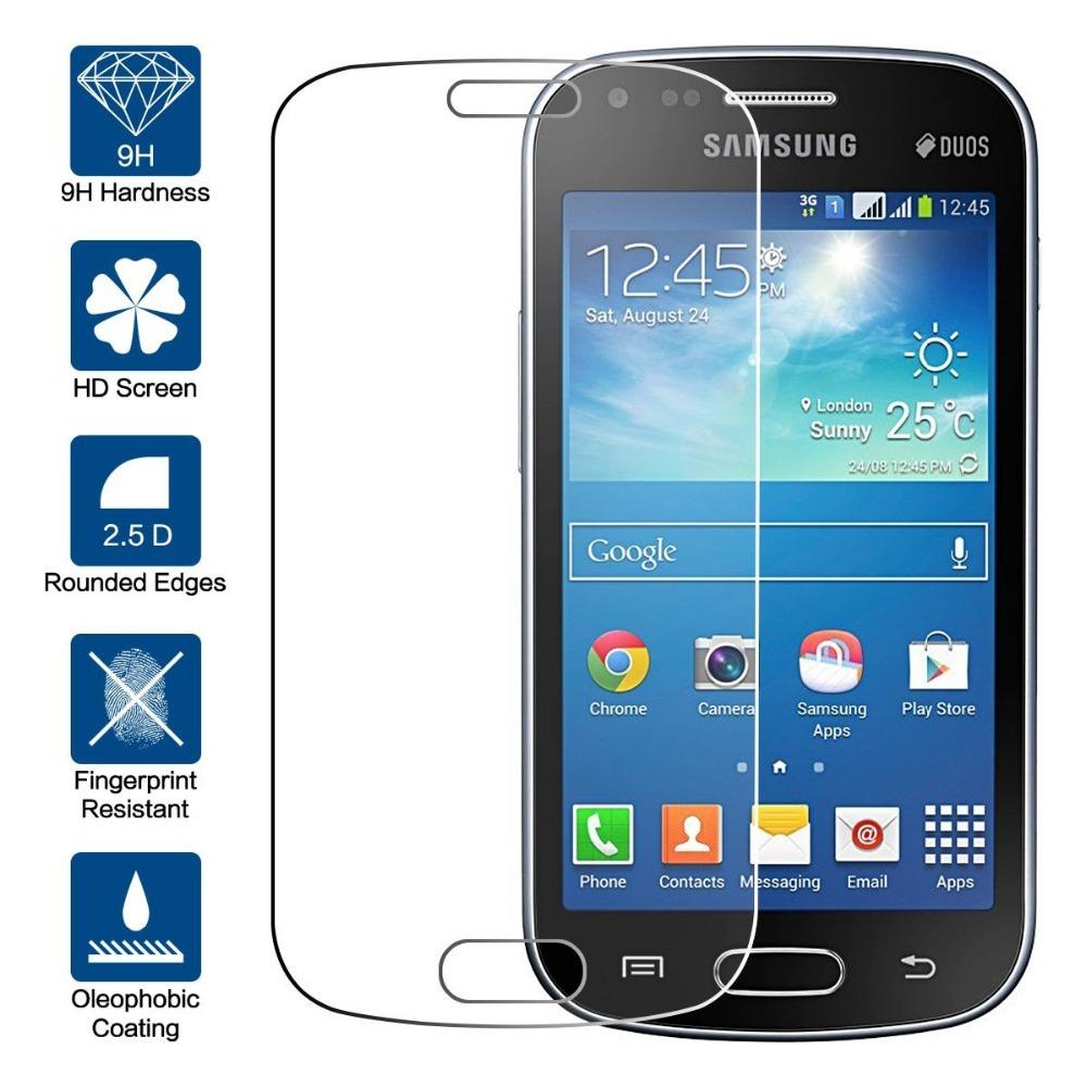 Tvrzené sklo 9H na displej - Galaxy Trend / Trend Plus / Trend Lite
