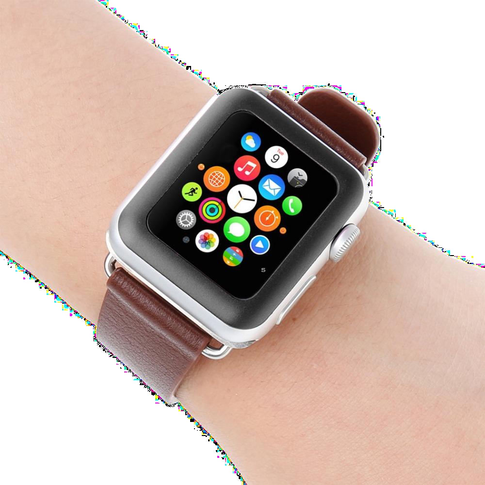 Ochranné tvrzené / temperované sklo pro chytré hodinky Apple Watch 42mm.