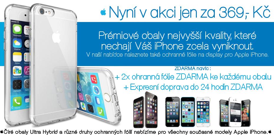 Obal na iPhone + 2ks fólie + doprava zdarma?! #Apple