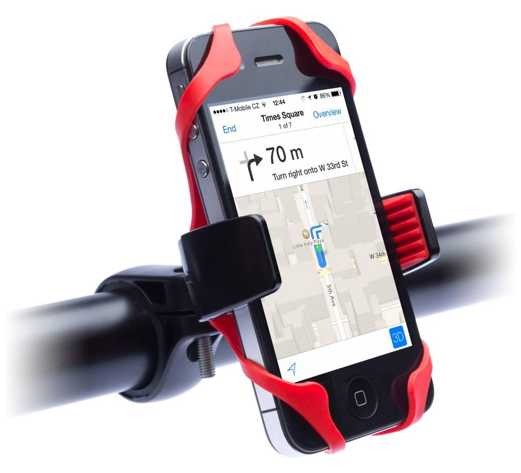 Držák na kolo pro mobil a iPhone.