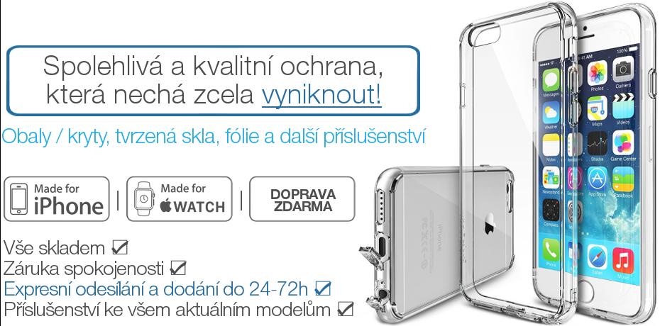 ČirýiPhone.cz: Průhledné obaly / kryty, fólie a tvrzená skla na displej pro Apple iPhone s dopravou zdarma. Vše pro iPhone 6s Plus / 6 Plus, 6s / 6, SE, 5s / 5c / 5, 4s /4.