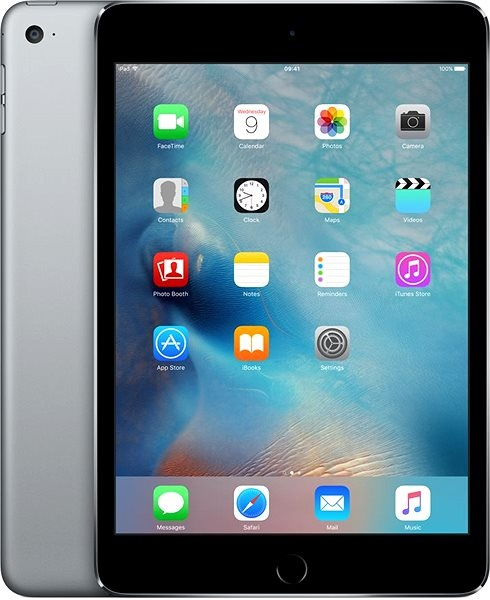Apple iPad mini 4 šedý / space gray.