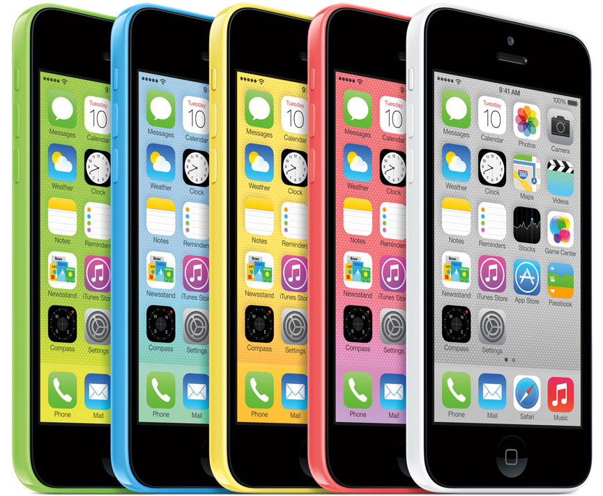 Apple iPhone 5c vzhled design