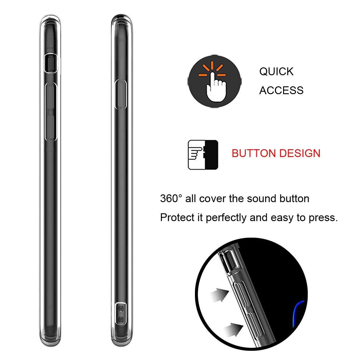 Transparentní čirý obal na iPhone 7 .