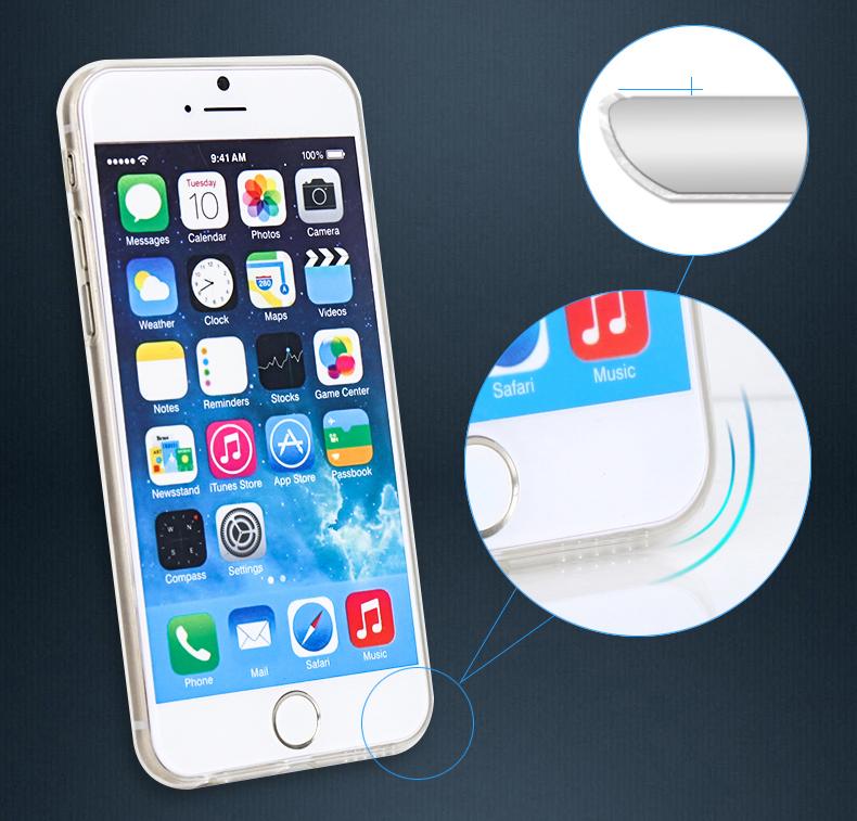 Průhledný obal/kryt na iPhone 6 Plus s dopravou zdarma! #Apple