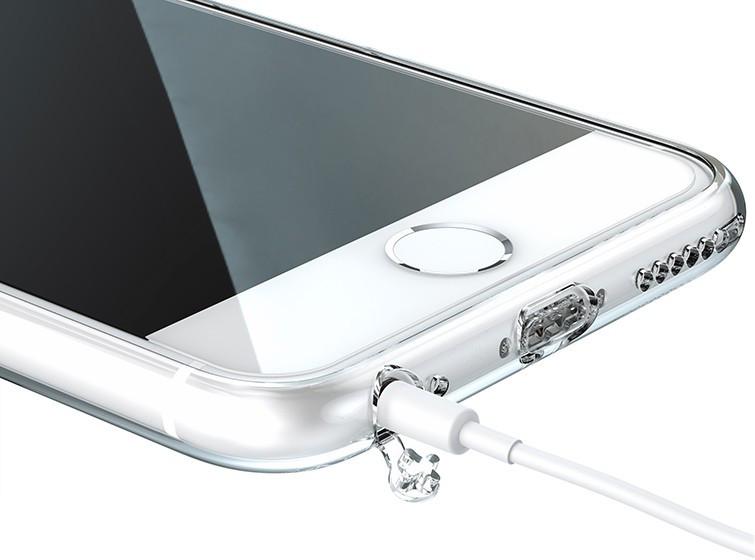 obaly ultra slim hybridp pruhledne transparentni na iphone 6 a iphone 6s