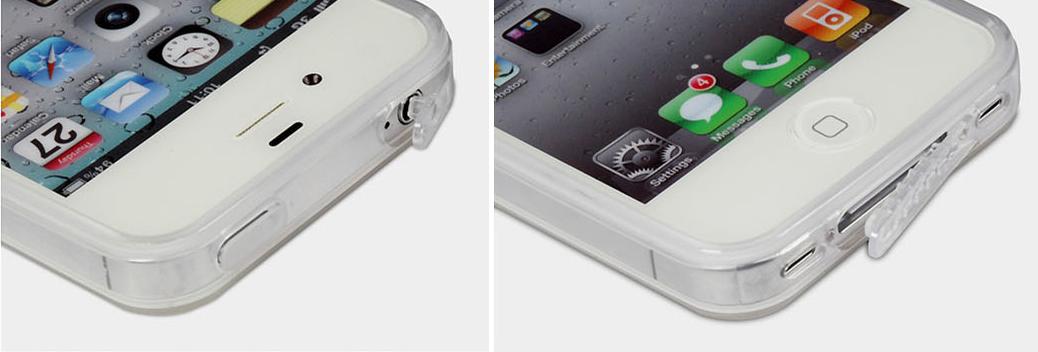 ochrana konektoru pred prachem ultra slim hybrid iphone 4s 4