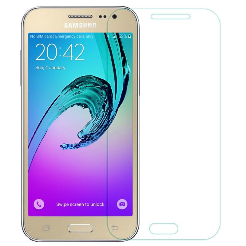 Ochranné tvrzené sklo 9H na displej pro Samsung GalaxyJ2, Fólie.