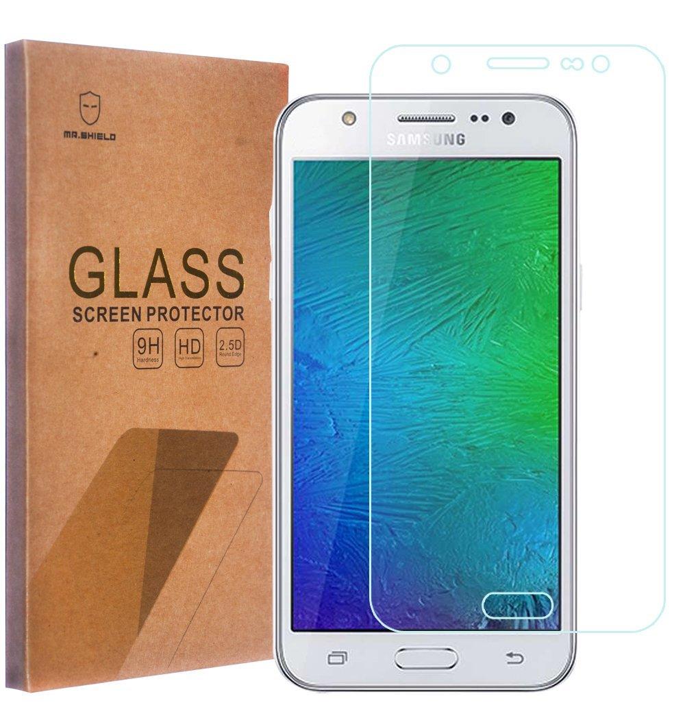 Ochranné tvrzené sklo 9H na displej pro Samsung Galaxy J7, Fólie.