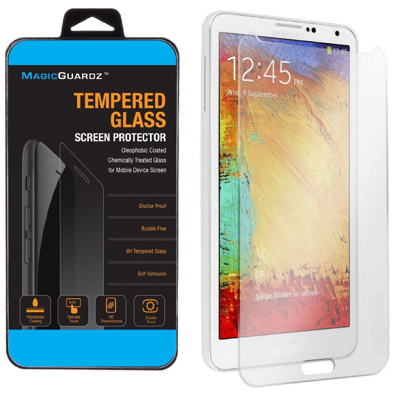 Ochranné tvrzené sklo na displej 9H pro Samsung Galaxy Note 3, fólie.